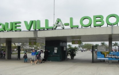 Parque Villa-Lobos atrai até 30 mil visitantes
