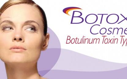 Botox e a amenização de rugas faciais