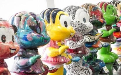"""Estátuas do """"Mônica Parade"""" estão expostas em shopping da capital"""