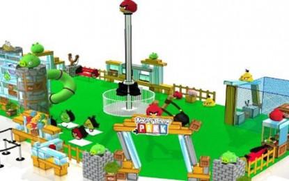 Parque Angry Birds, chega ao Shopping São Bernardo Plaza