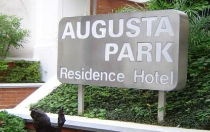 Hotel Augusta Park Suite, apartamentos com cozinha e fogão