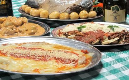 Cantina 1020 serve verdadeiros pratos italianos