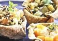 Restaurante Apfel prepara comida vegetariana com ingredientes da estação