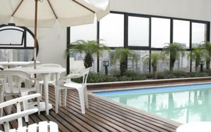 Hotel Tsue The Palace Flat, práticas acomodações em Moema