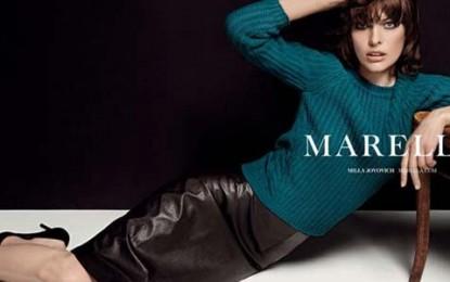 Milla Jovovich assina coleção de bolsas da grife italiana Marella