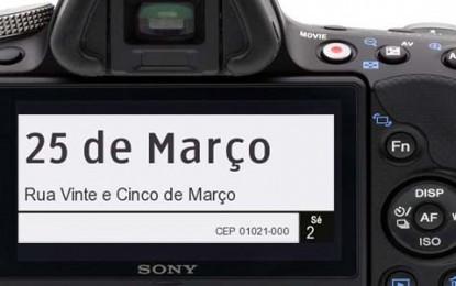 Jornada Fotográfica irá registrar a Rua 25 de Março