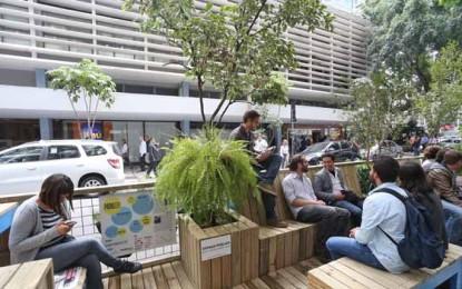 Parklets, o novo espaço verde de convivência nas ruas de São Paulo