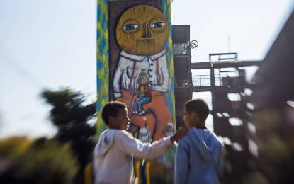 Projeto promove pintura dos paredões de prédios em São Paulo