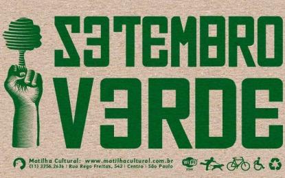 Setembro Verde conta com programação sobre sustentabilidade