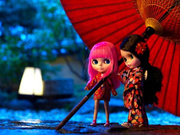 bonecas blythe fotografadas no japão são tema da blythecon