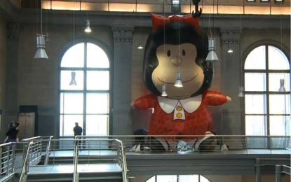 O Mundo de Mafalda em exposição na Praça das Artes em dezembro