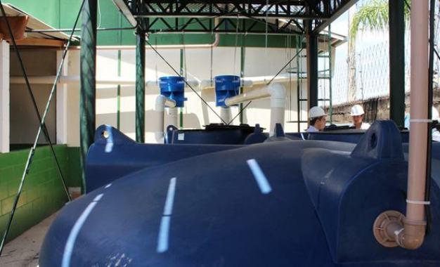 Empresa fabrica cisterna que armazena e aproveita água da chuva em SP