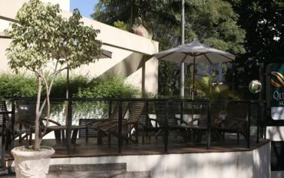 Hotel Quality Suites Imperial Hall, área verde na Consolação