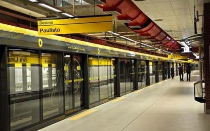 Metrô de São Paulo funcionará na madrugada da virada