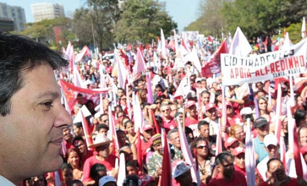 Alianças para a reeleição de Haddad