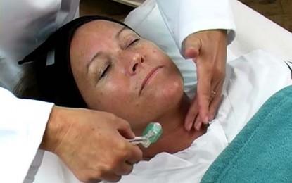 Dermaroller para rejuvenescimento da pele