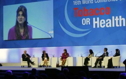 Conferência Mundial do Tabaco discute os riscos do fumo