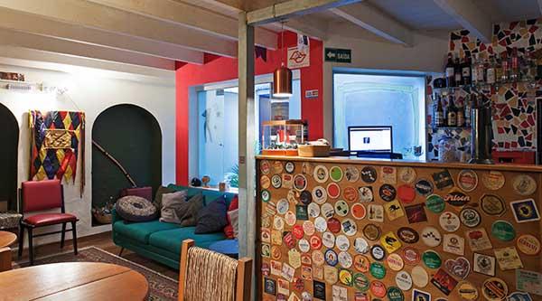 bar e lounge do pauliceia hostel