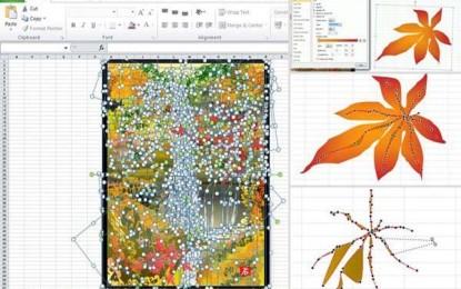 Artista japonês cria trabalhos artísticos com Excel