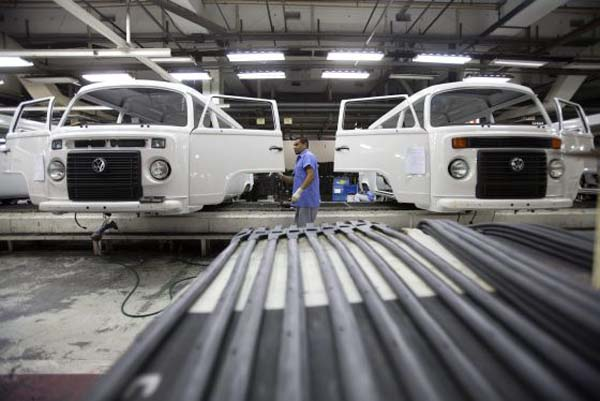 fabrica da volkswagen é uma das industrias de são bernardo do campo no abcd de são paulo