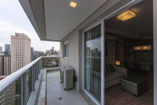 sacada em apartamento com varanda do olympia residence