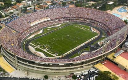 Morumbi, a casa do São Paulo F.C. é o maior estádio particular do Brasil