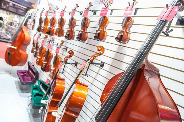 sessão de música clássica na expomusic