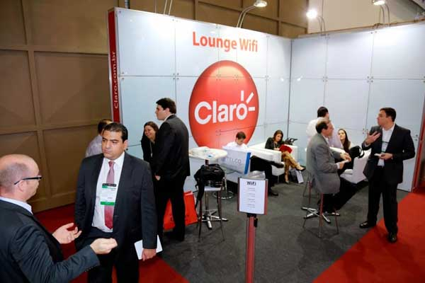 lounge wi-fi da claro no it forum expo