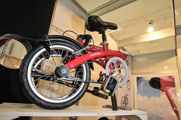 bicicleta dobrável durban em cycle fair são paulo