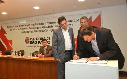 Micro e pequenas empresas disputarão contratos públicos municipais