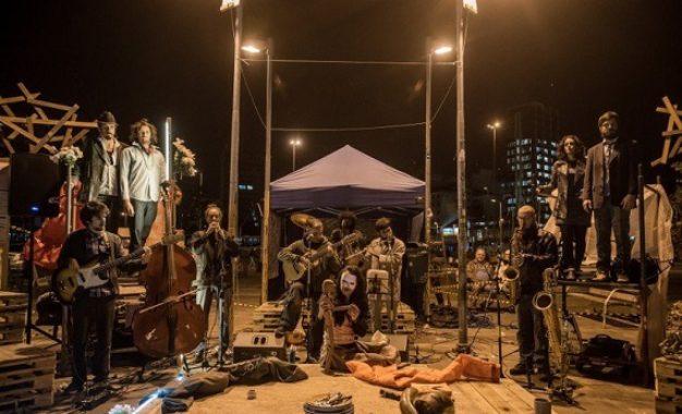 Ópera Urbe – Peste Contemporânea traz clima de ópera para o Largo da Batata