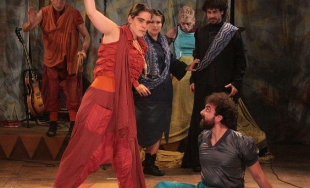 Tróilo e Créssida, de Shakespeare, entra em cartaz no Teatro João Caetano