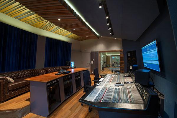técnica do estúdio de música do red bull station