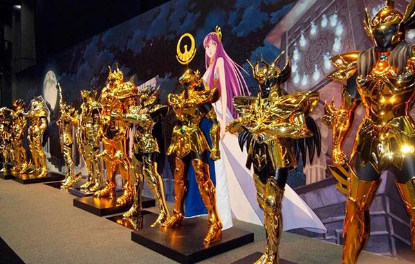 armaduras dos cavaleiros do zodiaco de ouro