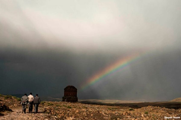 arco iris na armênia