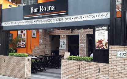 Bar Roma, restaurante e happy hour com bons charutos