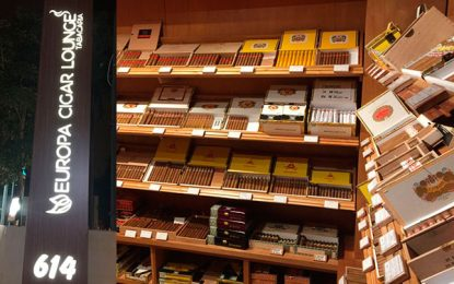 Europa Cigar Lounge, um novo conceito em cigar lounge
