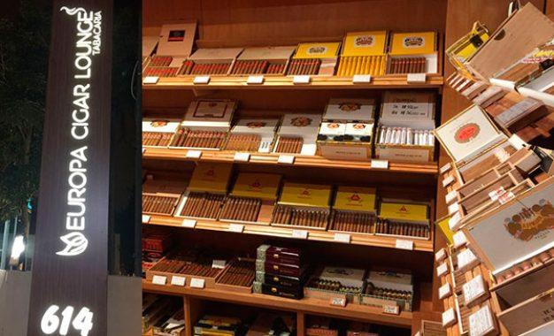 Europa Cigar Lounge, o clube de charuto que criou um novo conceito em cigar lounge