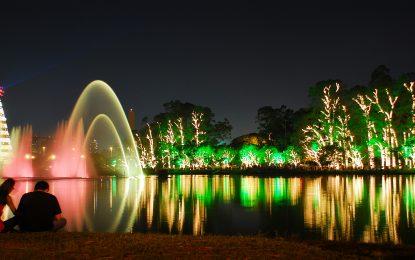 Natal da Fonte do Parque Ibirapuera conta com quase 2 milhões de lâmpadas
