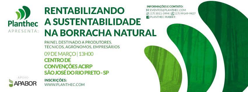Painel visa tonar a produção de borracha natural sustentável e rentável