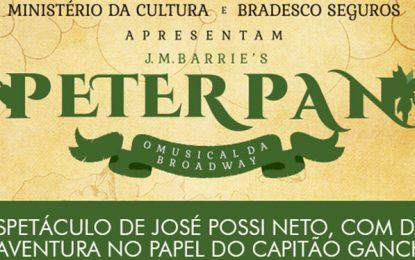 Clássico de gerações, Peter Pan ganha sua primeira versão brasileira no teatro