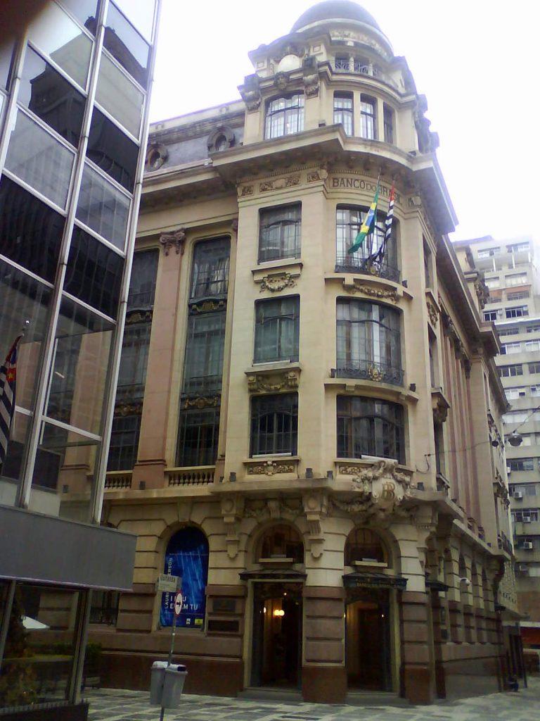 A fachada do CCBB, no Centro Histórico de São Paulo. Foto: Wikipedia