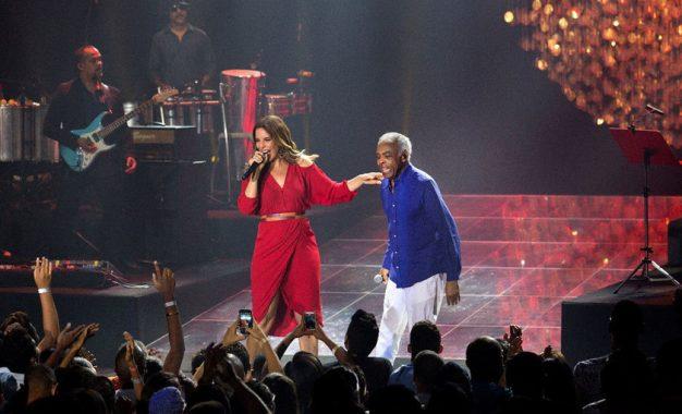 Ivete Sangalo e Gilberto Gil no Allianz Parque em junho: ingressos à venda