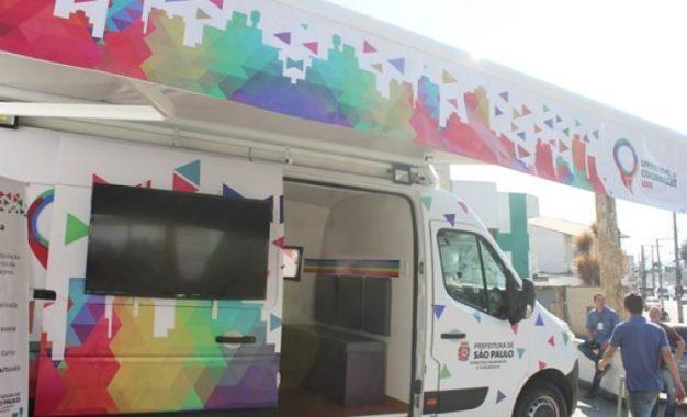 Unidade Móvel LGBTI: serviço aos cidadãos