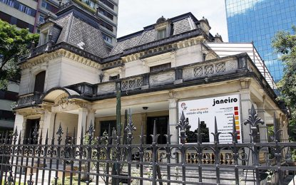 Casa das Rosas em São Paulo