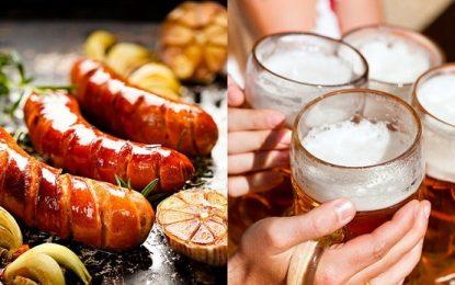 Festival de comida alemã e cerveja artesanal