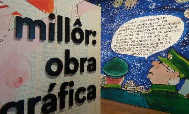 Exposição Millôr: obra gráfica no IMS Paulista vai até janeiro